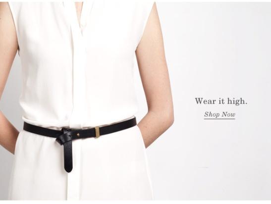 belt high
