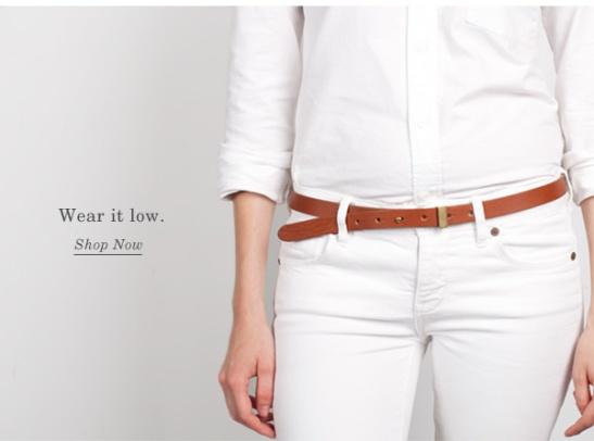 belt low